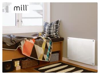 Mill Glass paneelverwarming MB600DN